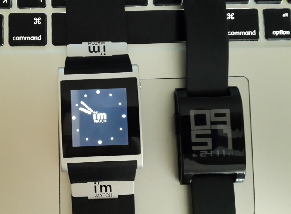 I'm Watch vs Pebble